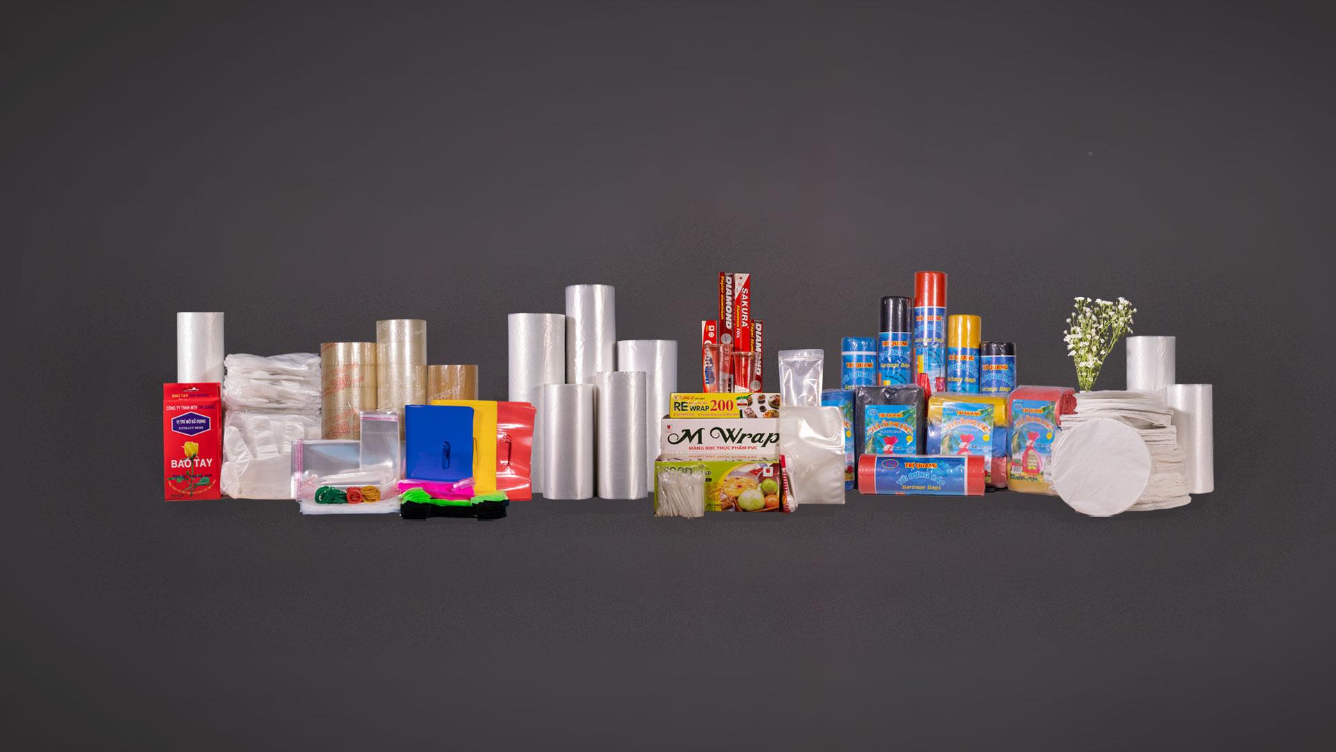 Mặt hàng phân phối tại Trí Quang Plastics