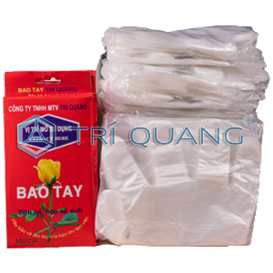 TRI QUANG HDPE Plastic Glove