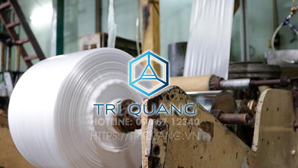 Quy trình sản xuất chuyên nghiệp, chuẩn chất lượng là 1 trong những ưu thế nổi bật của cty sản xuất túi nilong Trí Quang