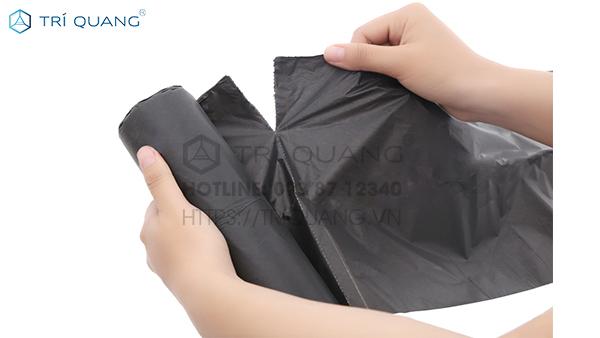 Khi dùng, chỉ cần xé túi theo đường răng cưa