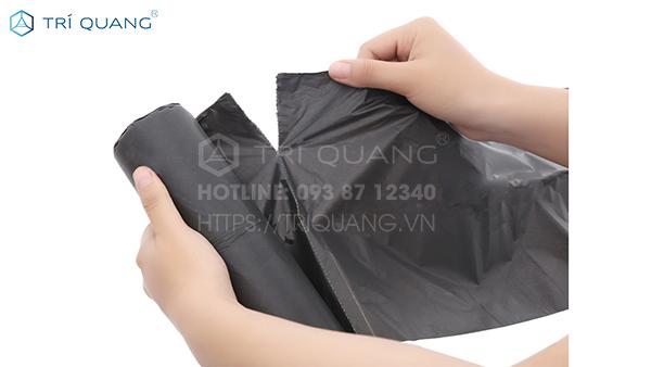 Túi đựng rác cực đại với kết cấu tiện dụng, mang đến tính ứng dụng vượt bậc cho người dùng