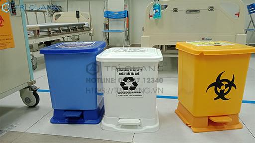 Sử dụng túi giúp phân loại rác thải y tế 1 cách dễ dàng hơn