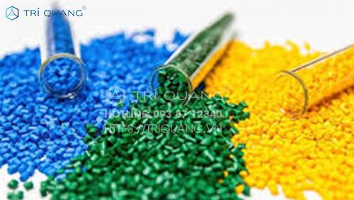 Nguyên liệu làm túi nilong chủ yếu là các hạt nhựa PP và PE