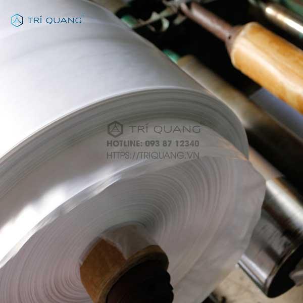 Sản xuất túi nhựa trong suốt với quy trình chuyên nghiệp tại Trí Quang