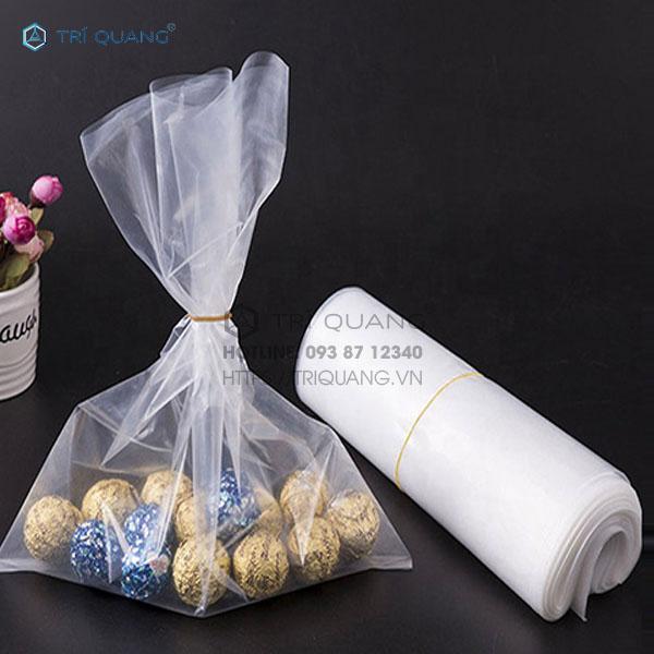 Sản xuất túi nhựa trong suốt