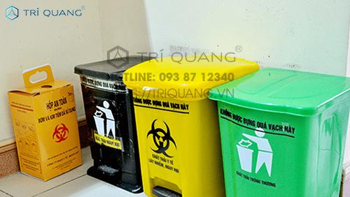 Sử dụng túi đựng rác y tế đúng cách là bảo vệ sức khỏe cho bản thân lẫn cộng đồng