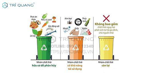 Phân loại túi đựng rác khi mua túi đựng rác thải số lượng lớn