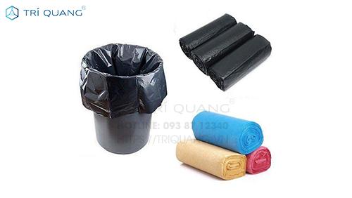 Túi đựng rác đen có thành phần là các hạt nhựa PE hay còn gọi là Polyethylene