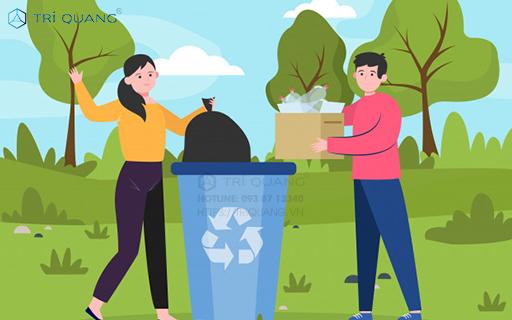 Những lợi thế khi đặt mua túi đựng rác lớn tại Trí Quang
