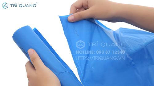 Túi đựng rác Trí Quang với đa dạng kích thước, chủng loại để người dùng lựa chọn