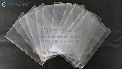 Túi PE trong suốt tại Trí Quang hội tụ nhiều ưu điểm nổi bật