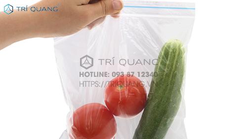 Túi zip đựng thực phẩm giúp giữ hương vị món ăn tươi ngon, hấp dẫn