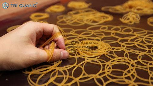 Các mẫu dây thun Trí Quang được làm từ chất liệu an toàn với người dùng
