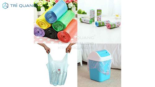 Các sản phẩm túi nilon giá sỉ hcm được sản xuất tại Trí Quang
